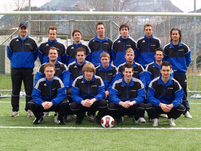 1. Mannschaft 2007/08 (Bild: Mario Viecelli)