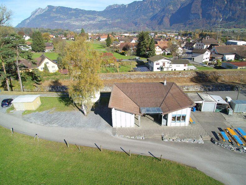 Altes Clubhaus (Bild: Mario Viecelli)