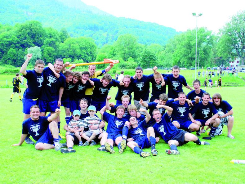 Aufstiegsmannschaft 2009/10(Bild: Mario Viecelli)