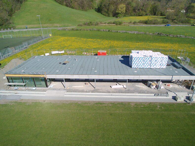 Neues Vereinsgebäude (Bild: Mario Viecelli)