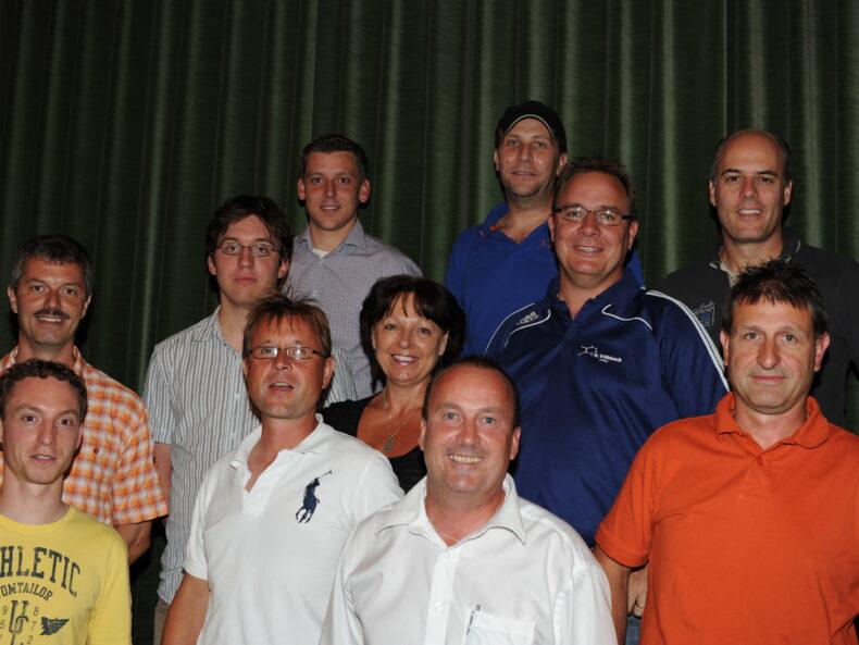 Alter Vorstand FC Trübbach (Bild: Mario Viecelli)