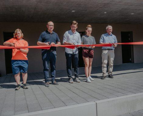 Eröffnung Neues Vereinsgebäude (Bild: Alessia Schönenberger)